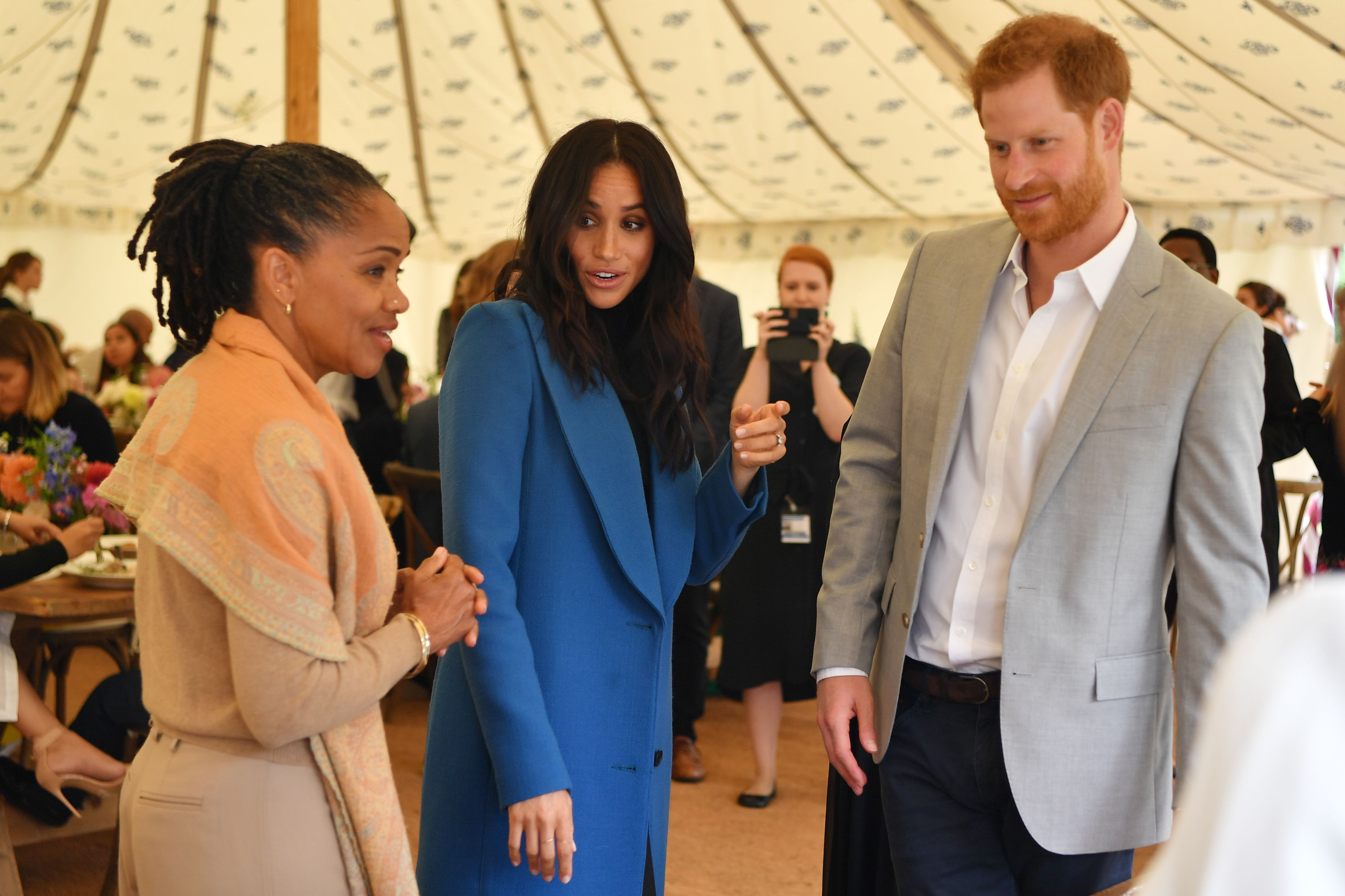 Doria Ragland, príncipe Harry, Meghan Markle