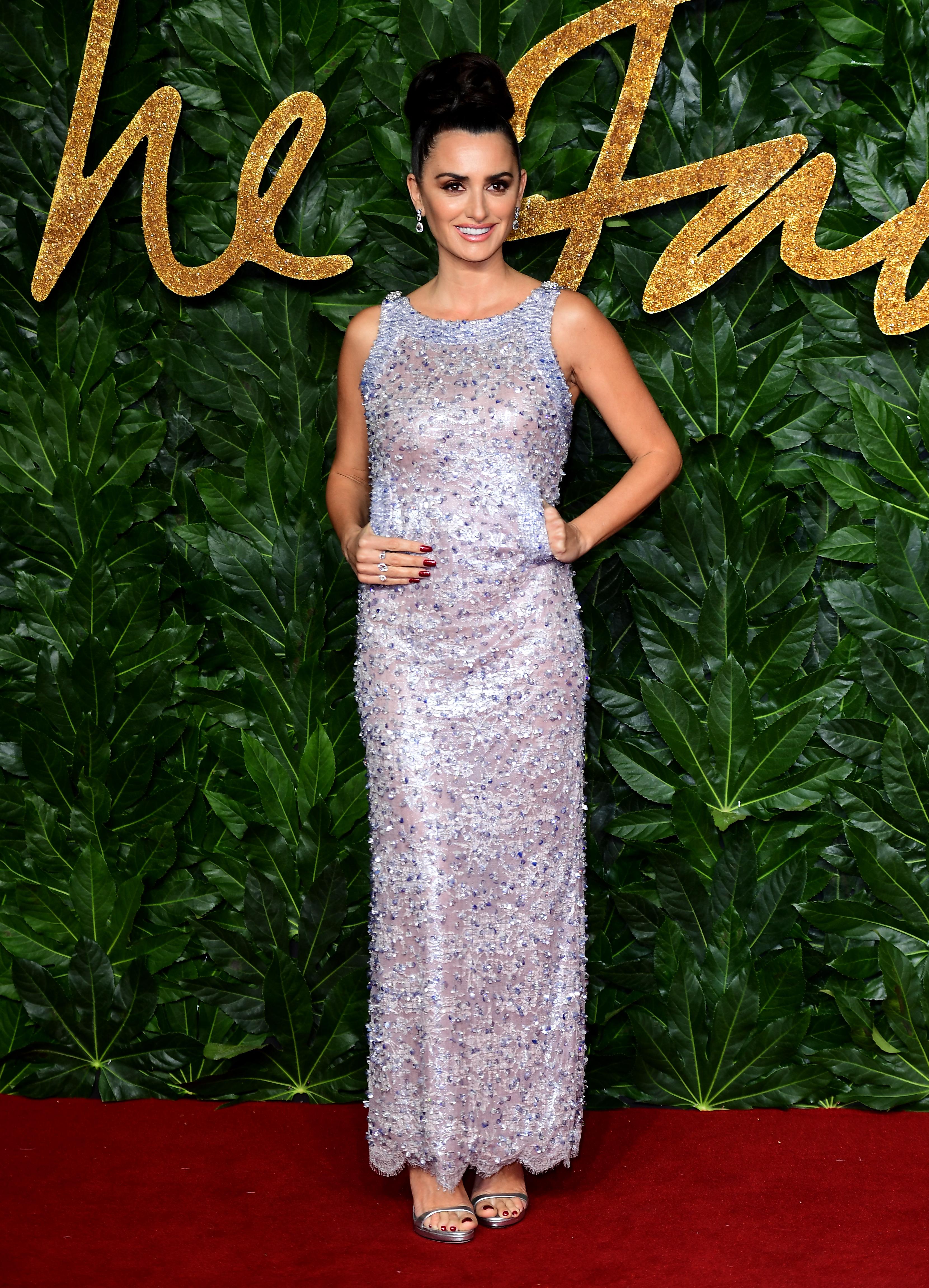 Penelope Cruz, British Fashion Awards