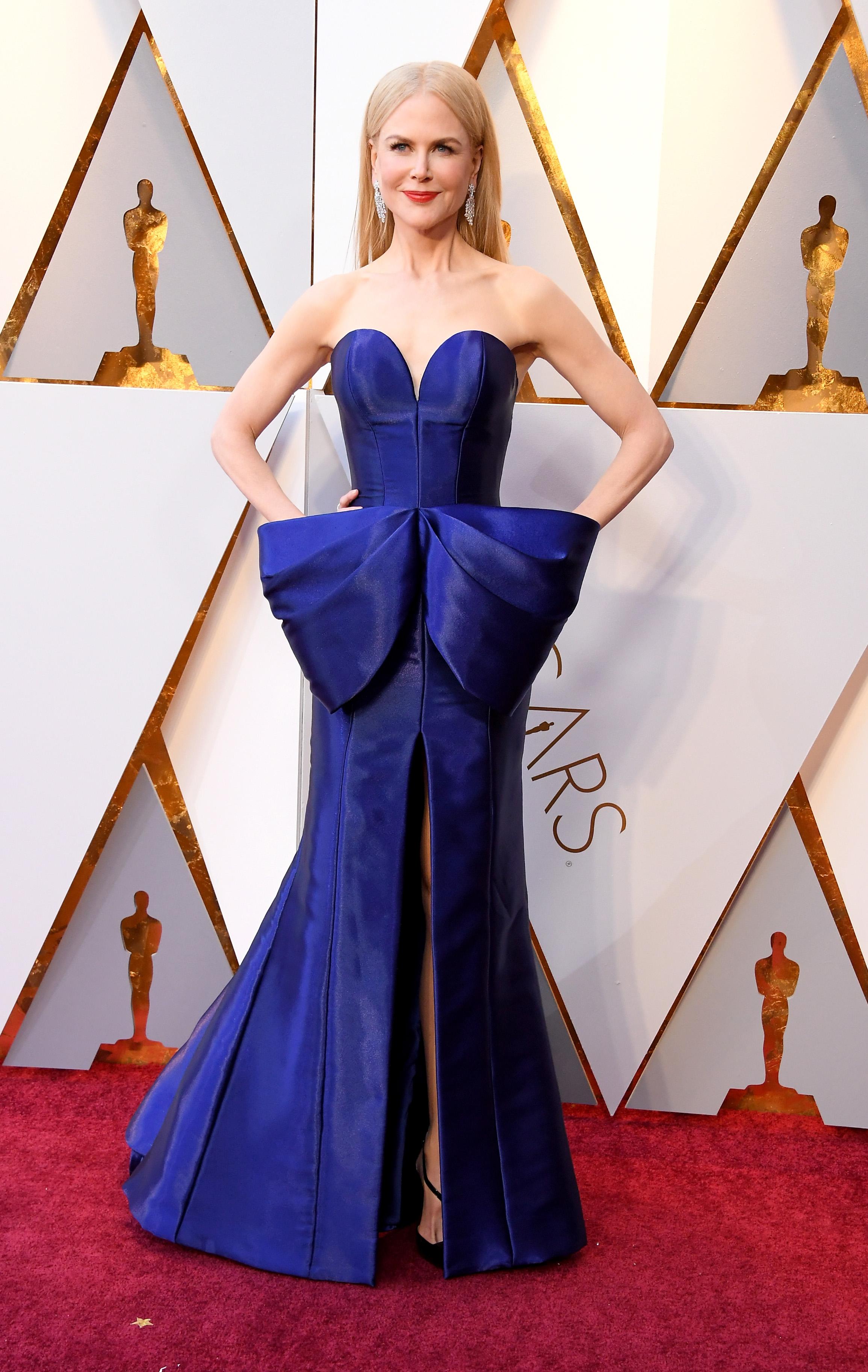 Nicole Kidman, vestido, oscar, oscar 2018