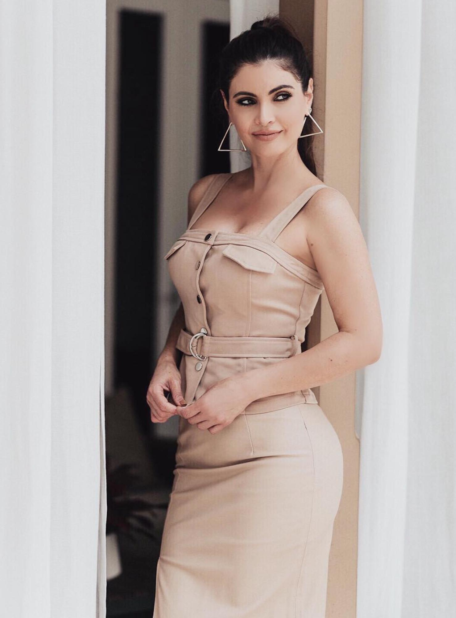 Chiquinquirá Delgado, estilo, famosa, vestido, look