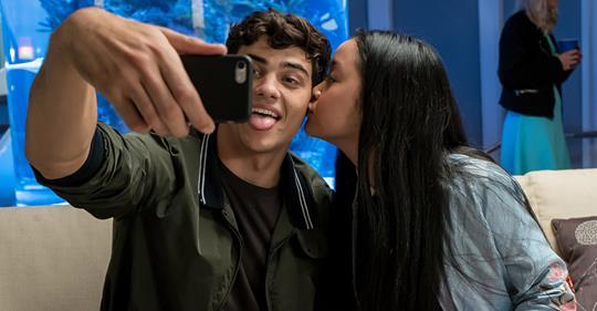 Noah Centineo and Lana Condor / Netflix