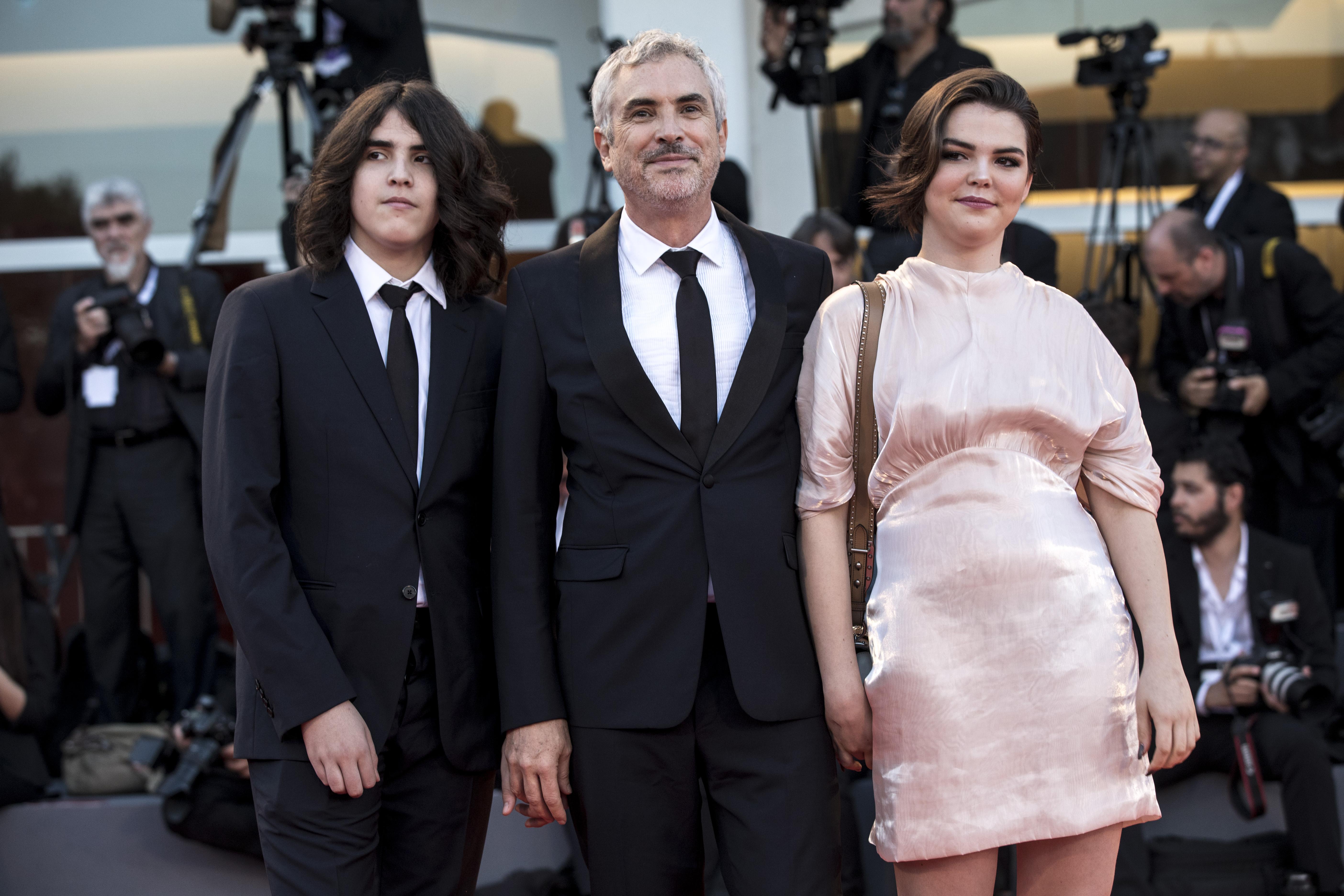 Olmo Teodoro Cuarón, Alfonso Cuaron, Tess Bu Cuarón