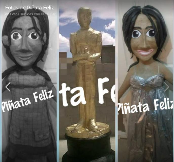 Yalitza Aparicio piñata