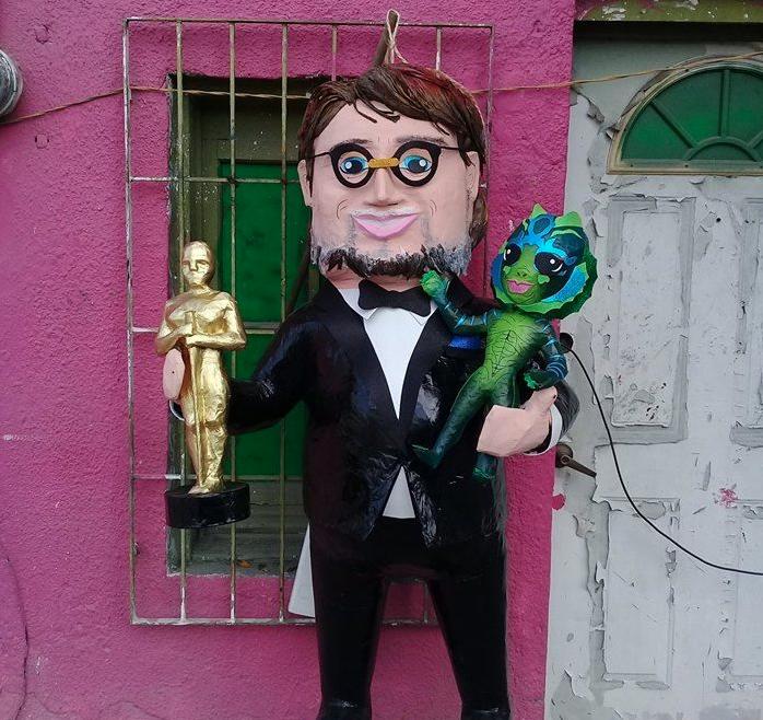 Guillermo del Toro piñata