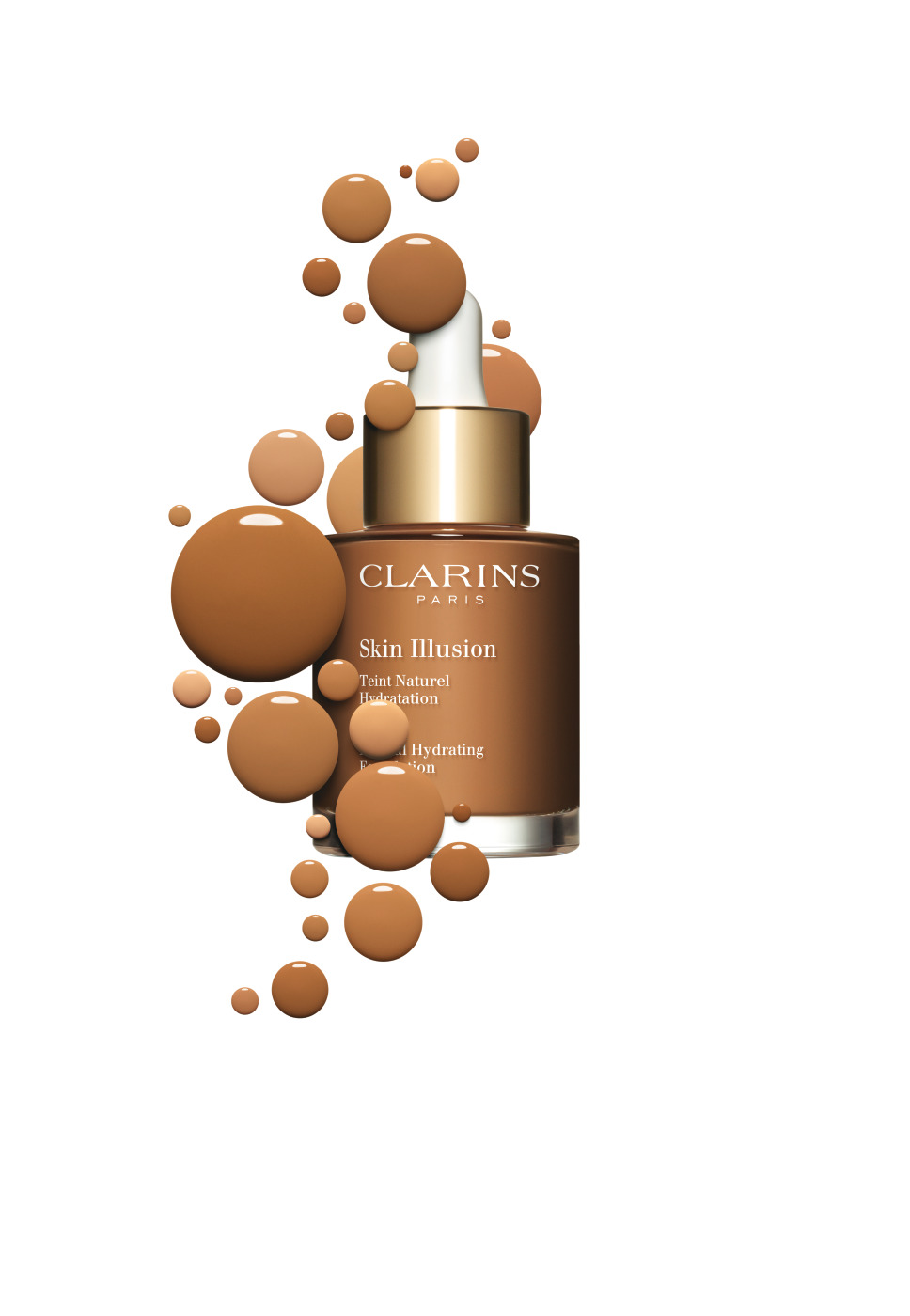 clarins skin illusion natural hydrating foundation with pattern_118.5