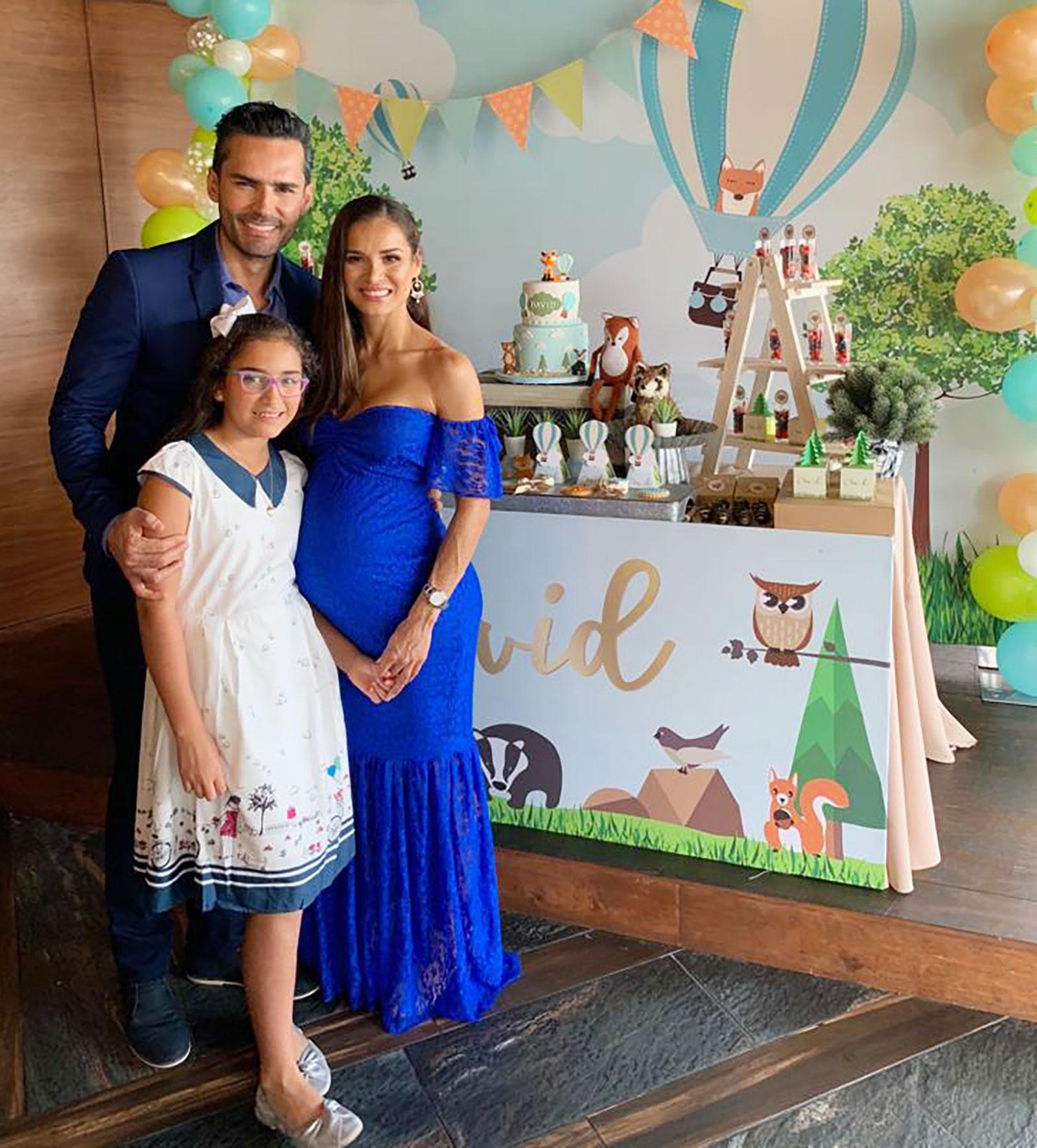 Fabián Ríos, Yuly Ferreira, baby shower