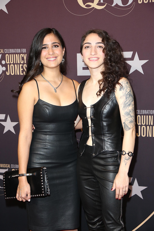 Germeny Hernandez and Emily Estefan