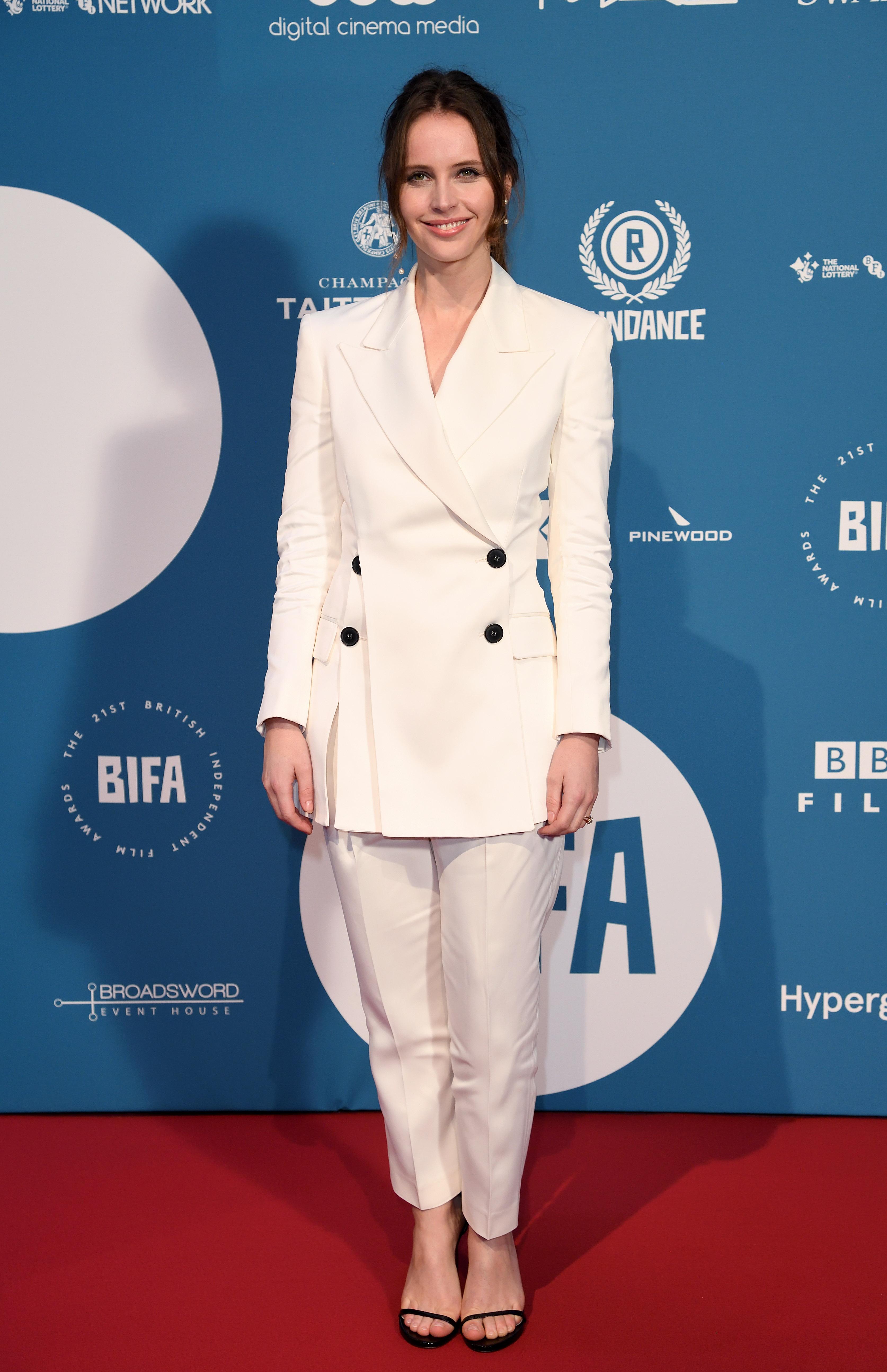 Felicity Jones, British Independent Film Awards