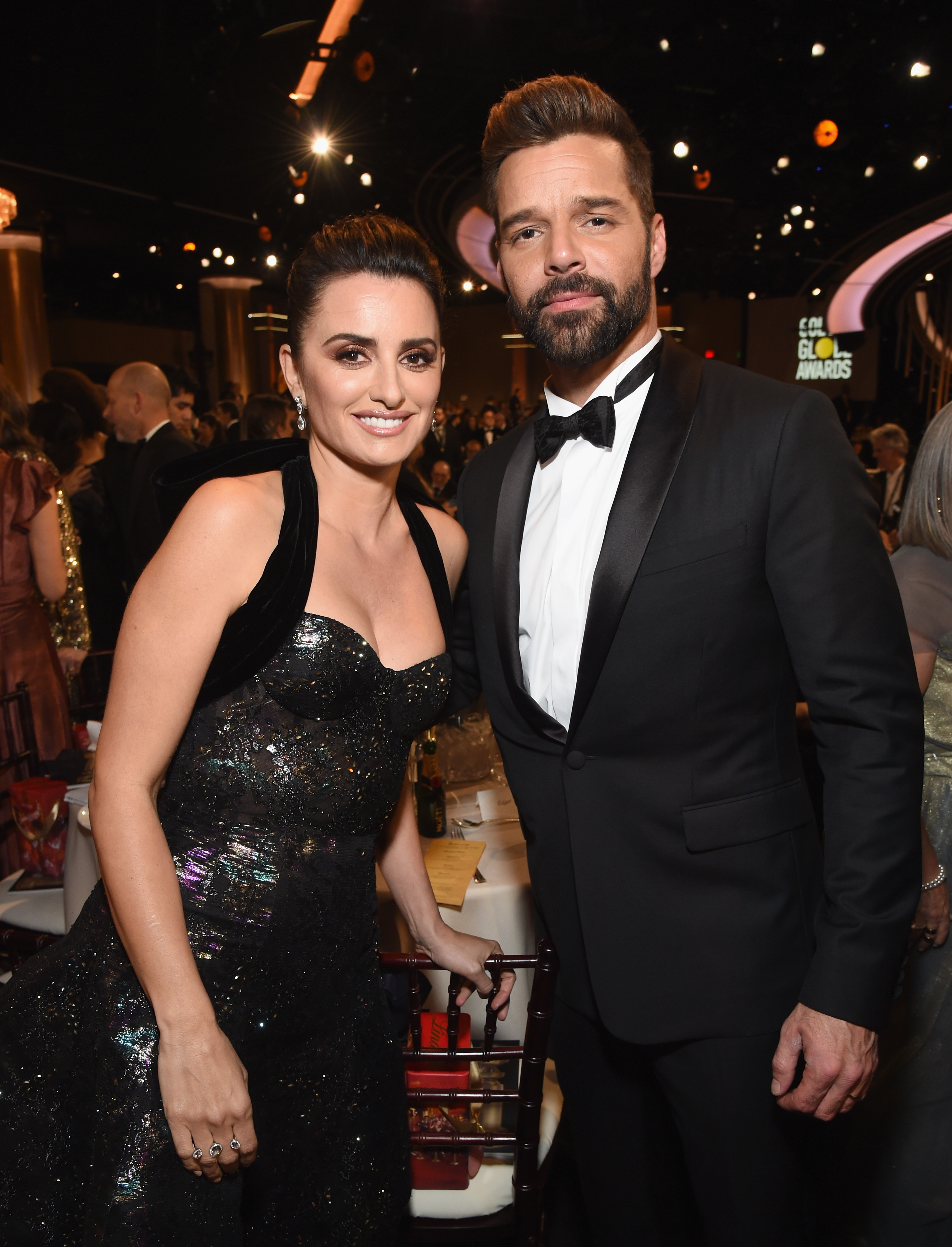 Moet & Chandon At The 76th Annual Golden Globe Awards - Inside