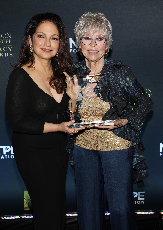 Gloria Estefan, Rita Moreno