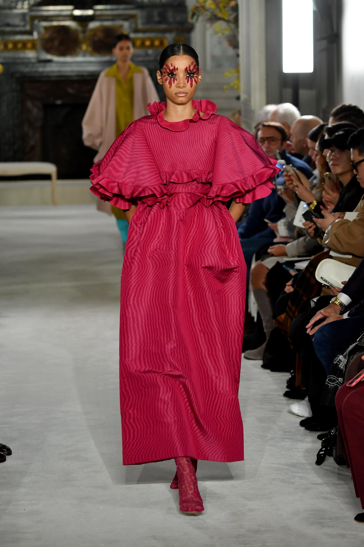 modelos dominicanas, valentino, semana de la moda