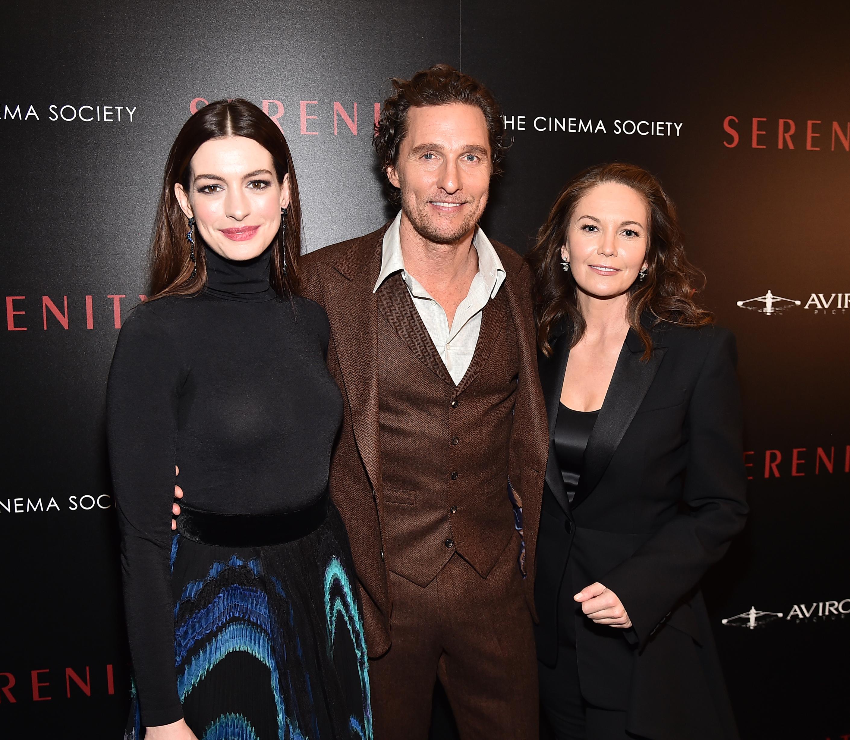 Anne Hathaway, Matthew McConaughey, Diane Lane