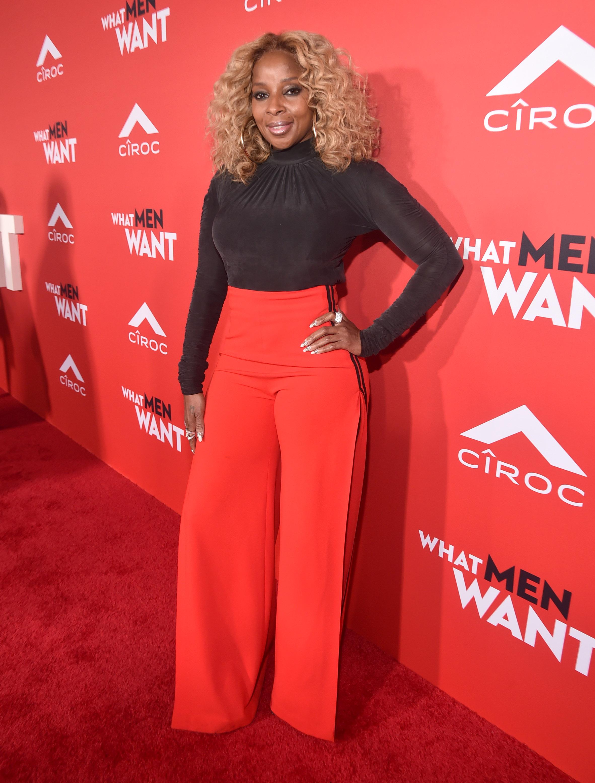 Mary J Blige, looks