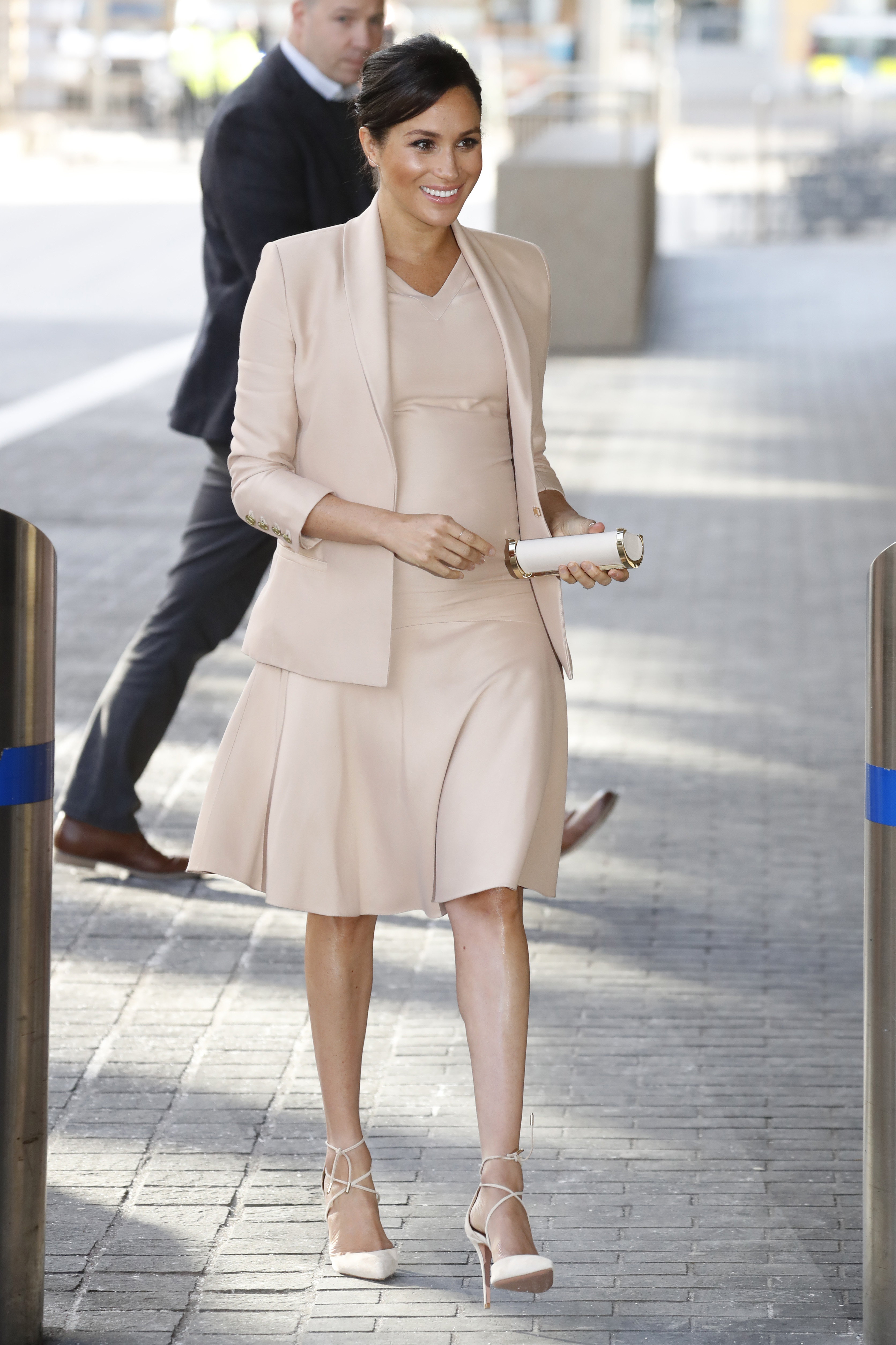 Meghan Markle, looks, embarazo