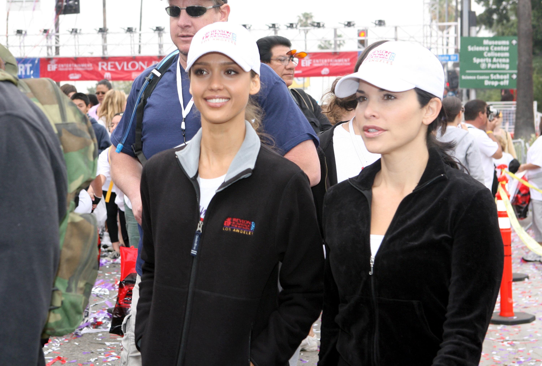 Lauren Sánchez, Jessica Alba