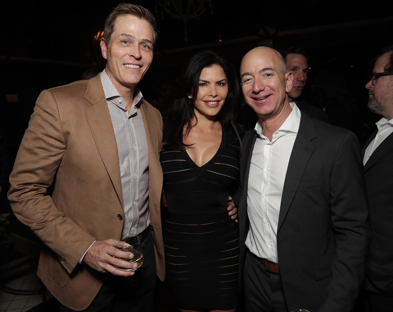 Lauren Sánchez, Patrick Whitesell, Jeff Bezos