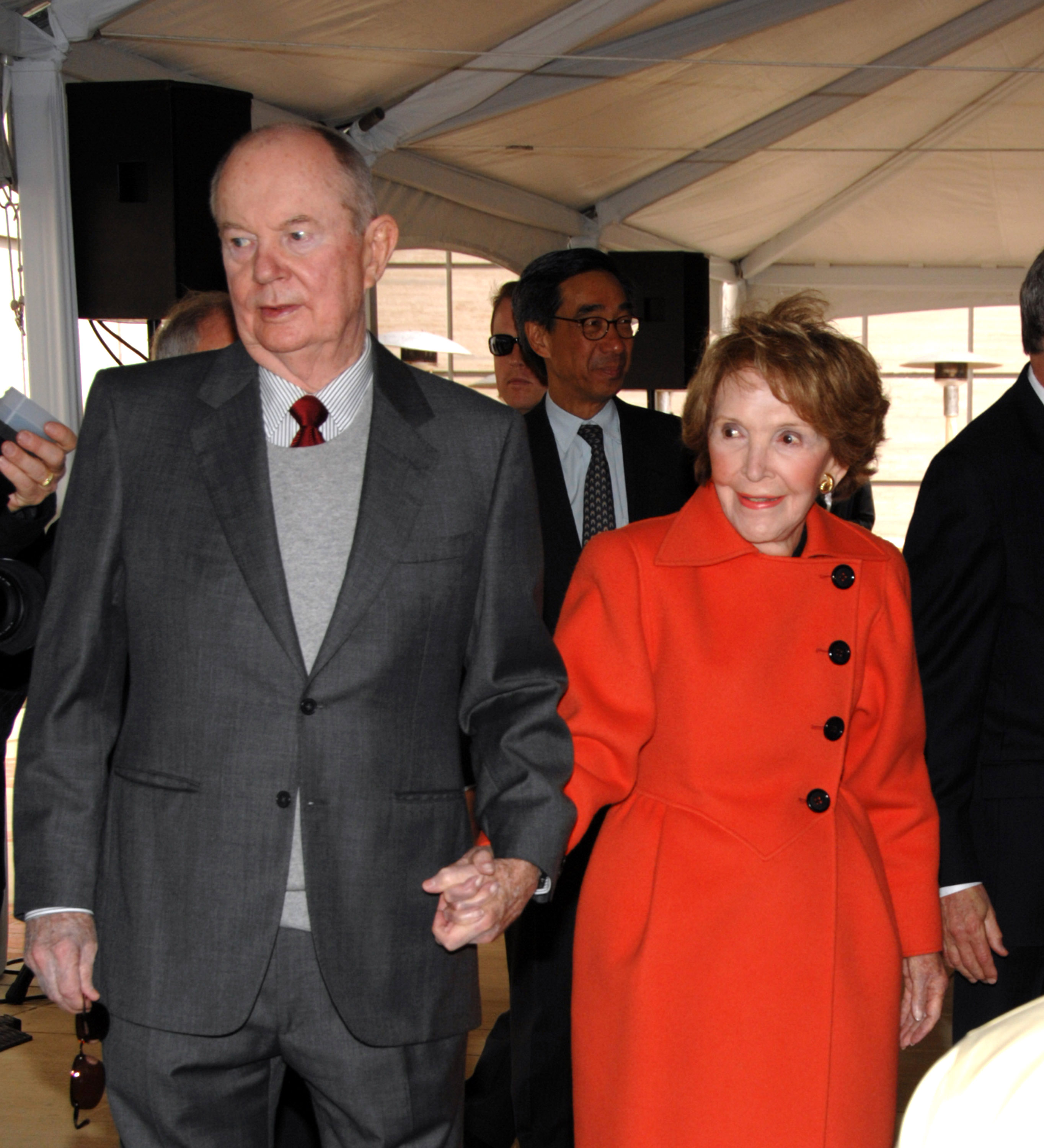 A. Jerrold Perenchio, Nancy Reagan