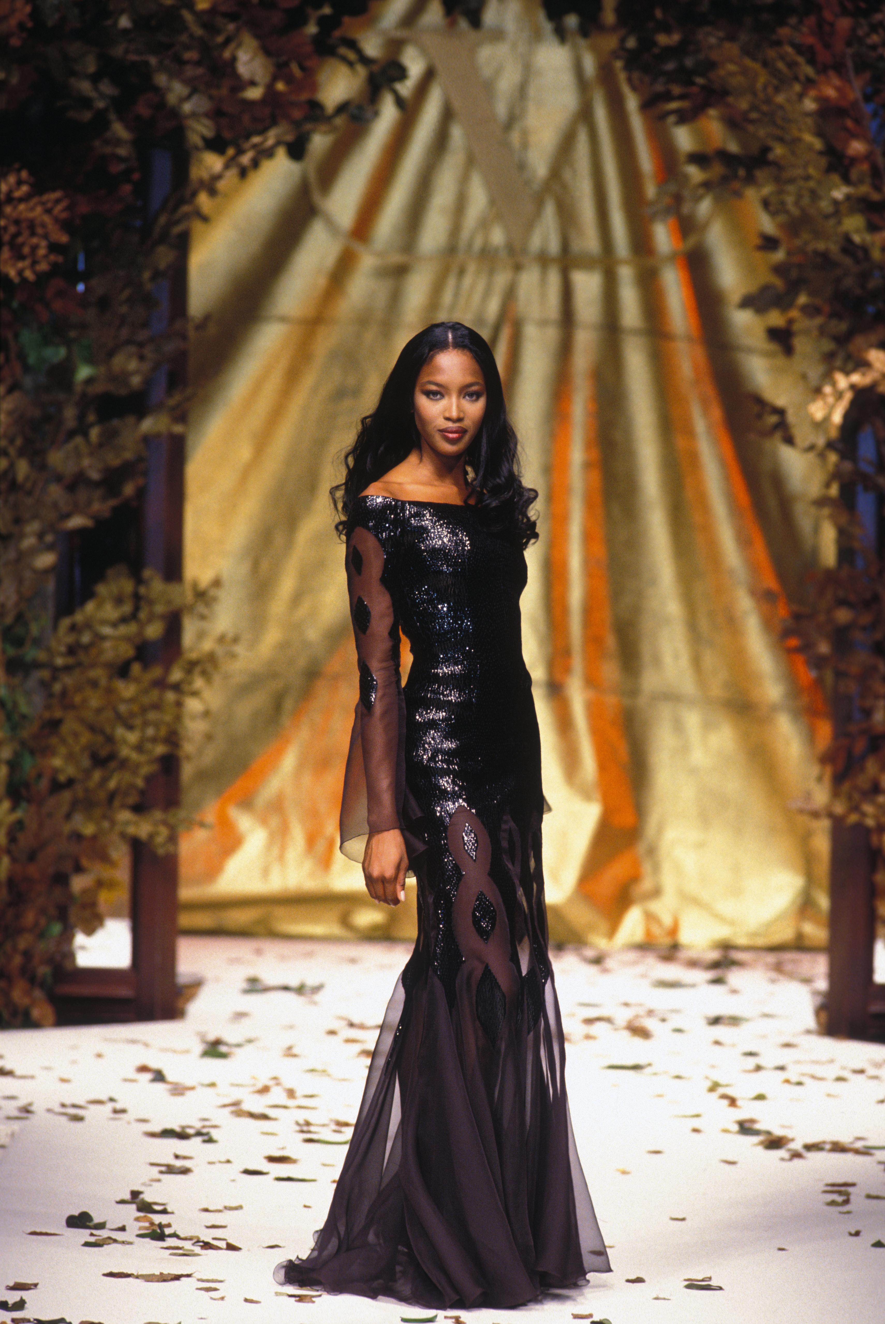 Naomi Campbell, pasarela, modelo, Fashion Week