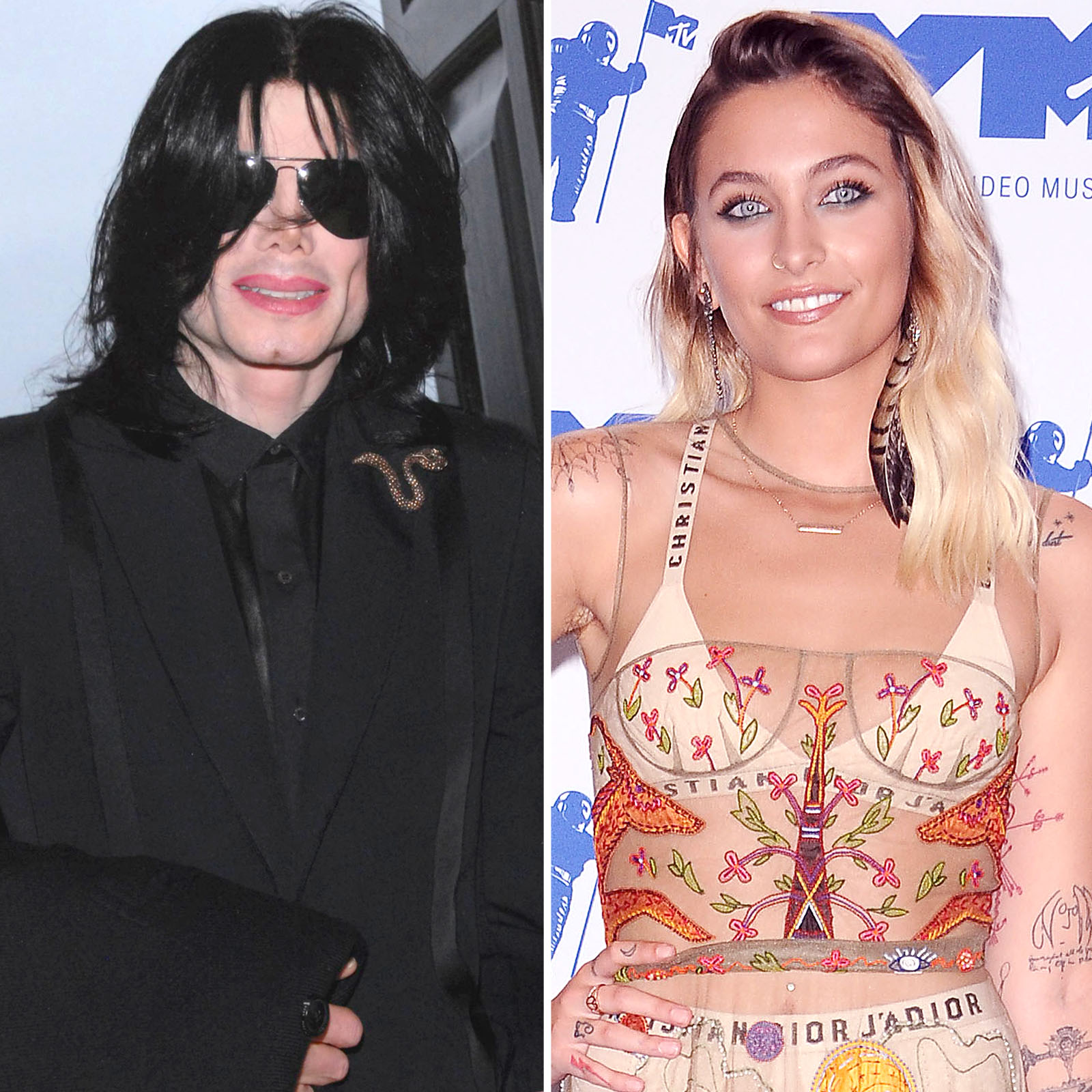Michael y Paris Jackson