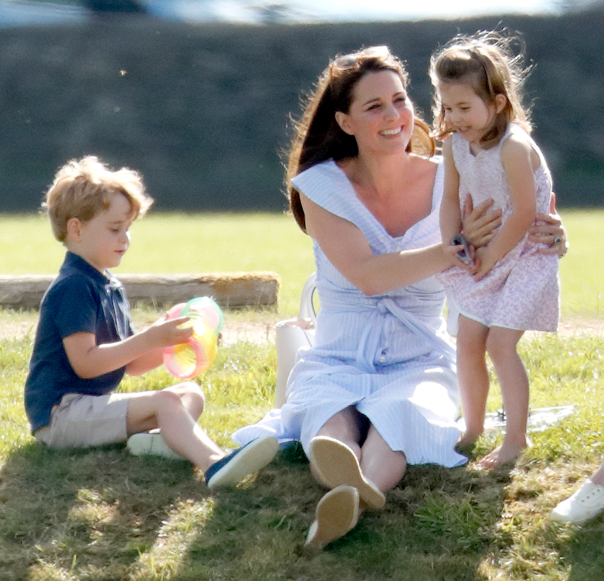 Príncipe George Kate Middleton Princesa Charlotte