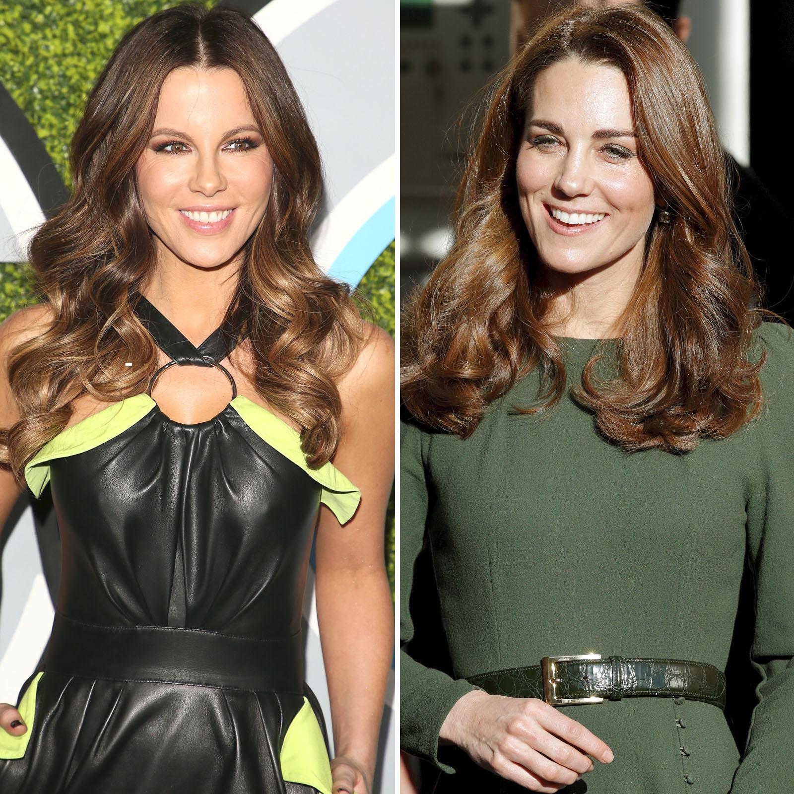 Kate Beckinsale y Kate Middleton