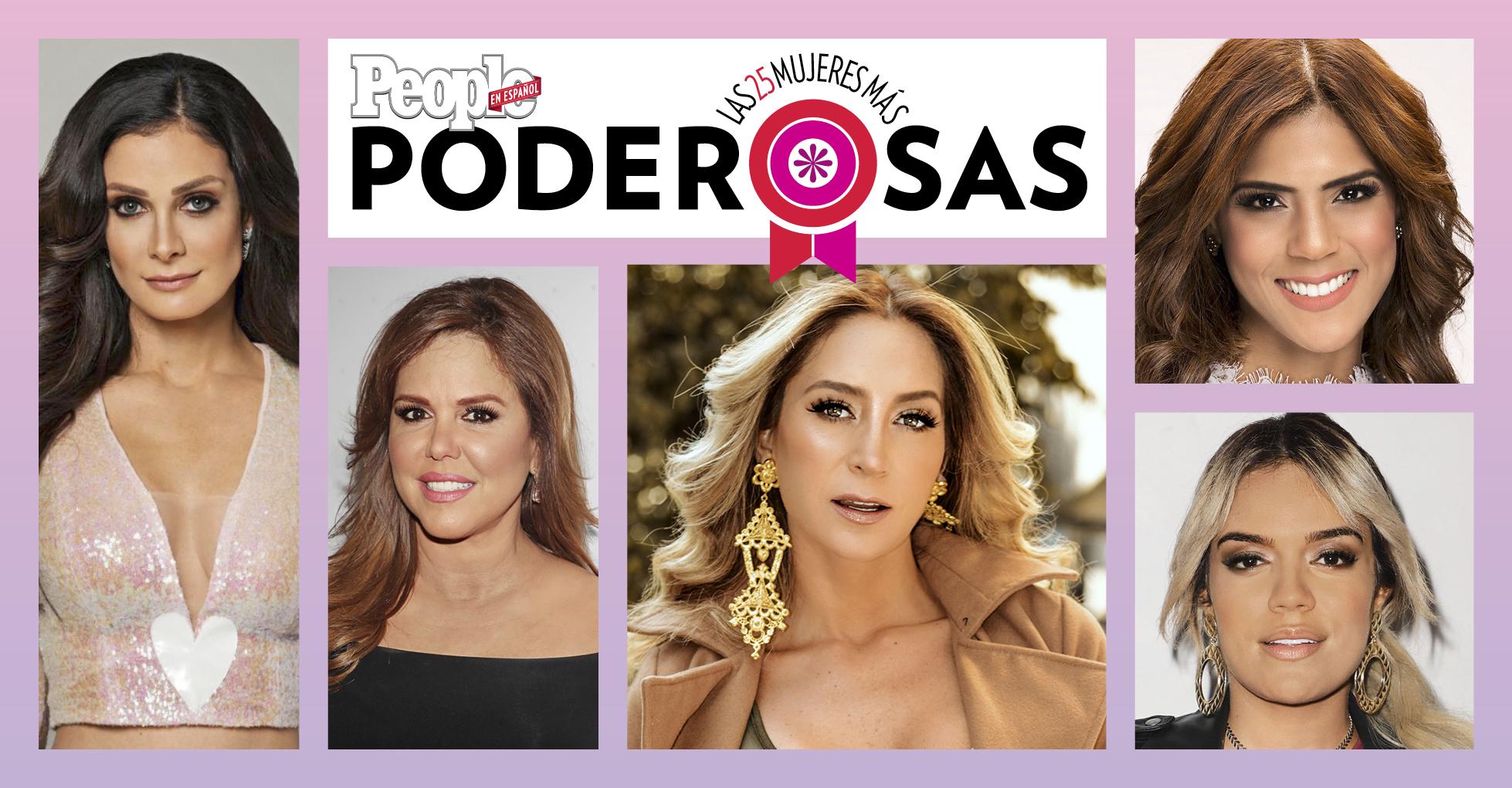 Dayanara Torres, Geraldine Bazan, Francisca Lachapel, Karol G y Maria Celeste Arraras