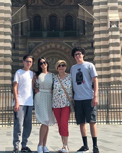 Dayanara Torres Vacaciones Europa 2018