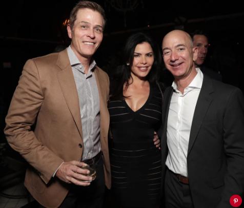 Patrick Whitesell, Lauren Sanchez, Jeff Bezos