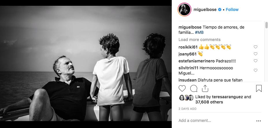 Miguel Bosé/Instagram