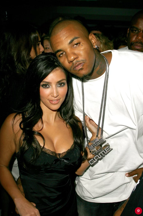 Kim Kardashian and The Game. Jeff Vespa/WireImage