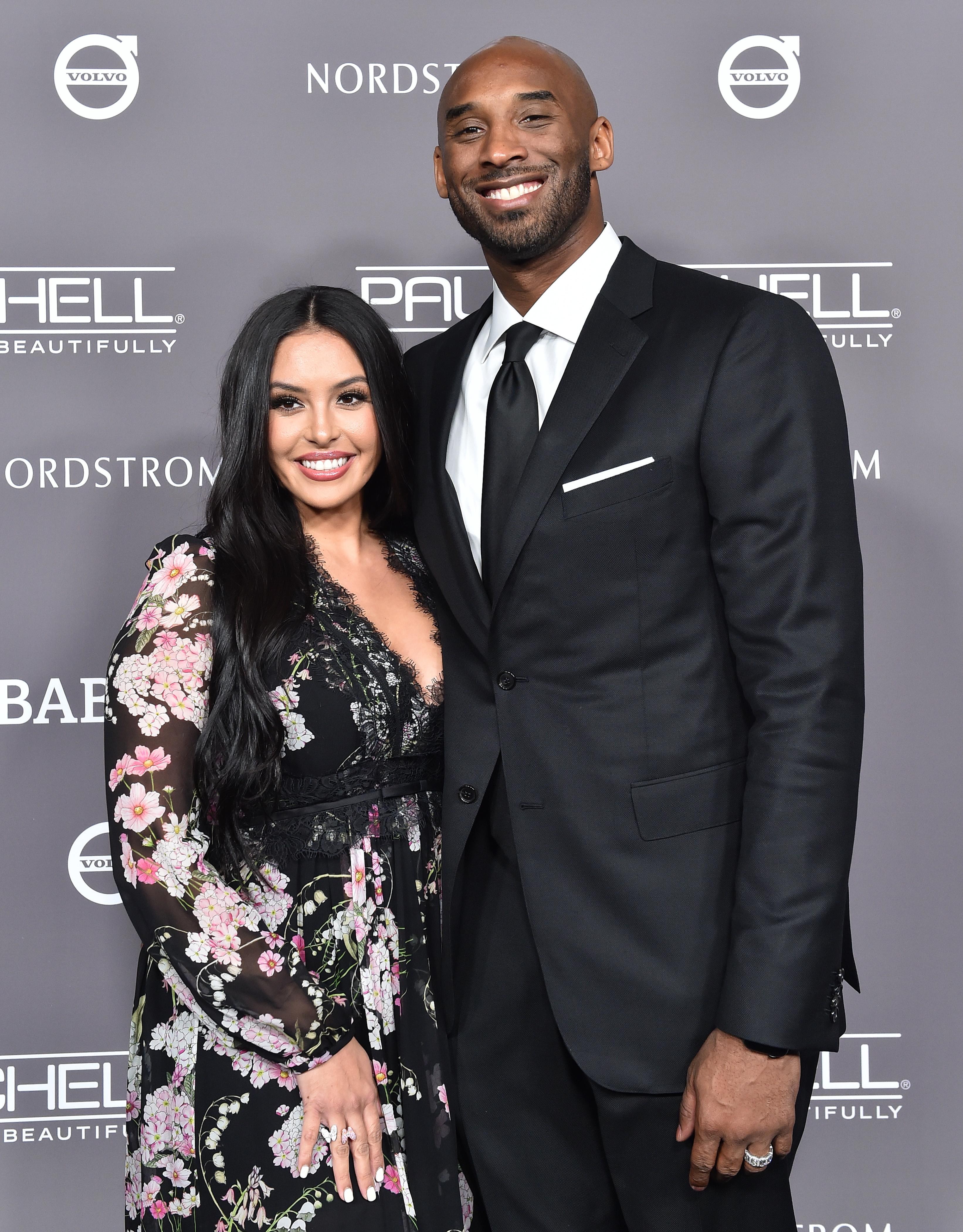 Kobe Bryant Vanessa Laine Bryant