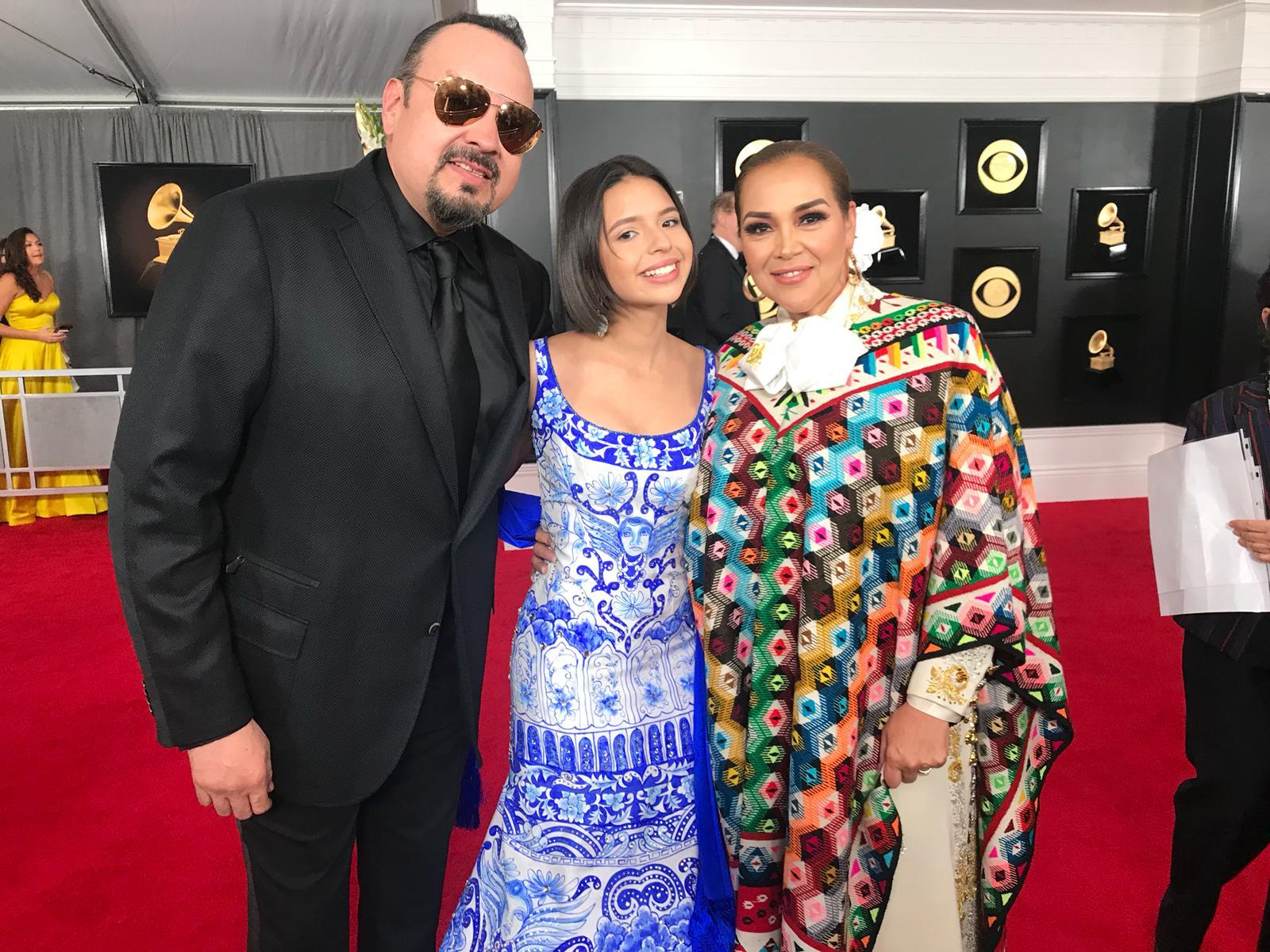 Ángela Aguilar, Pepe Aguilar, Aida Cuevas