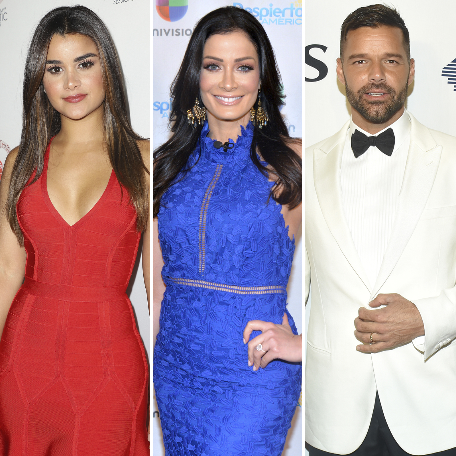 Clarissa Molina, Dayanara Torres y Ricky Martin
