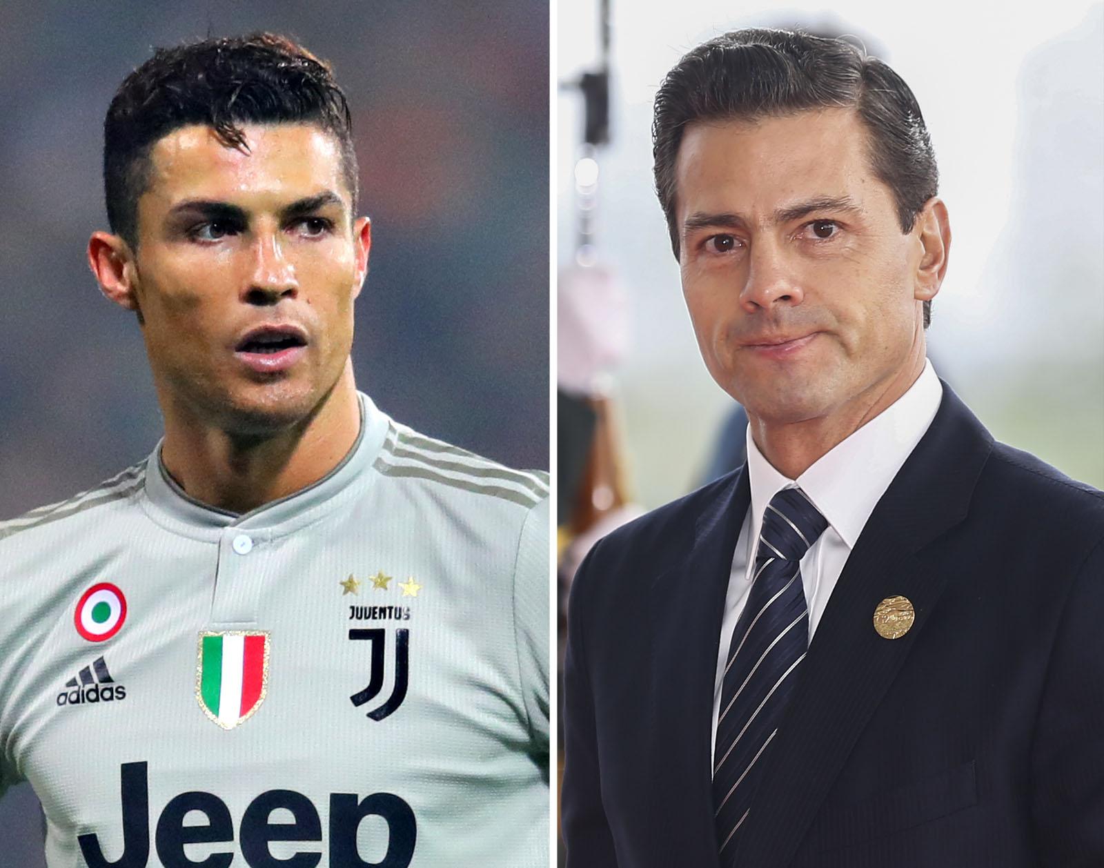 Cristiano Ronaldo Enrique Peña Nieto