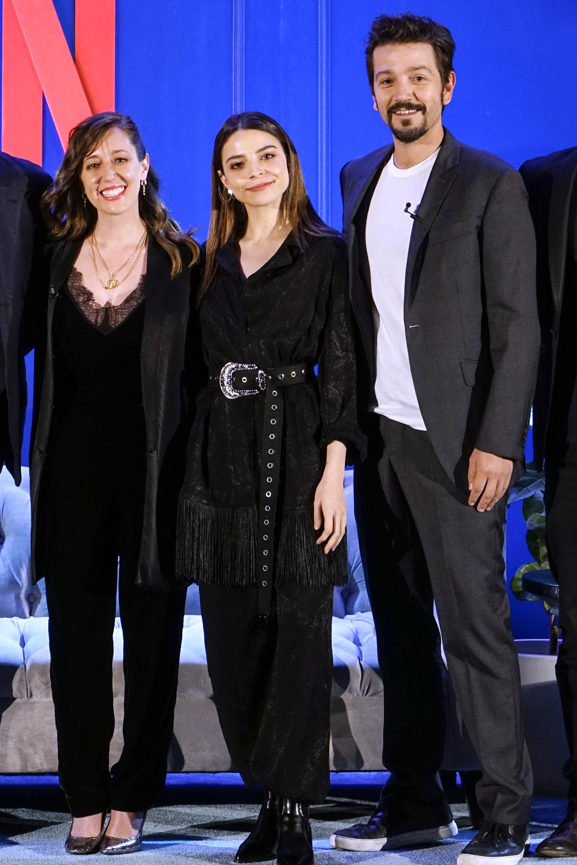 Diego Luna, Mariana Treviño y Giselle Kuri