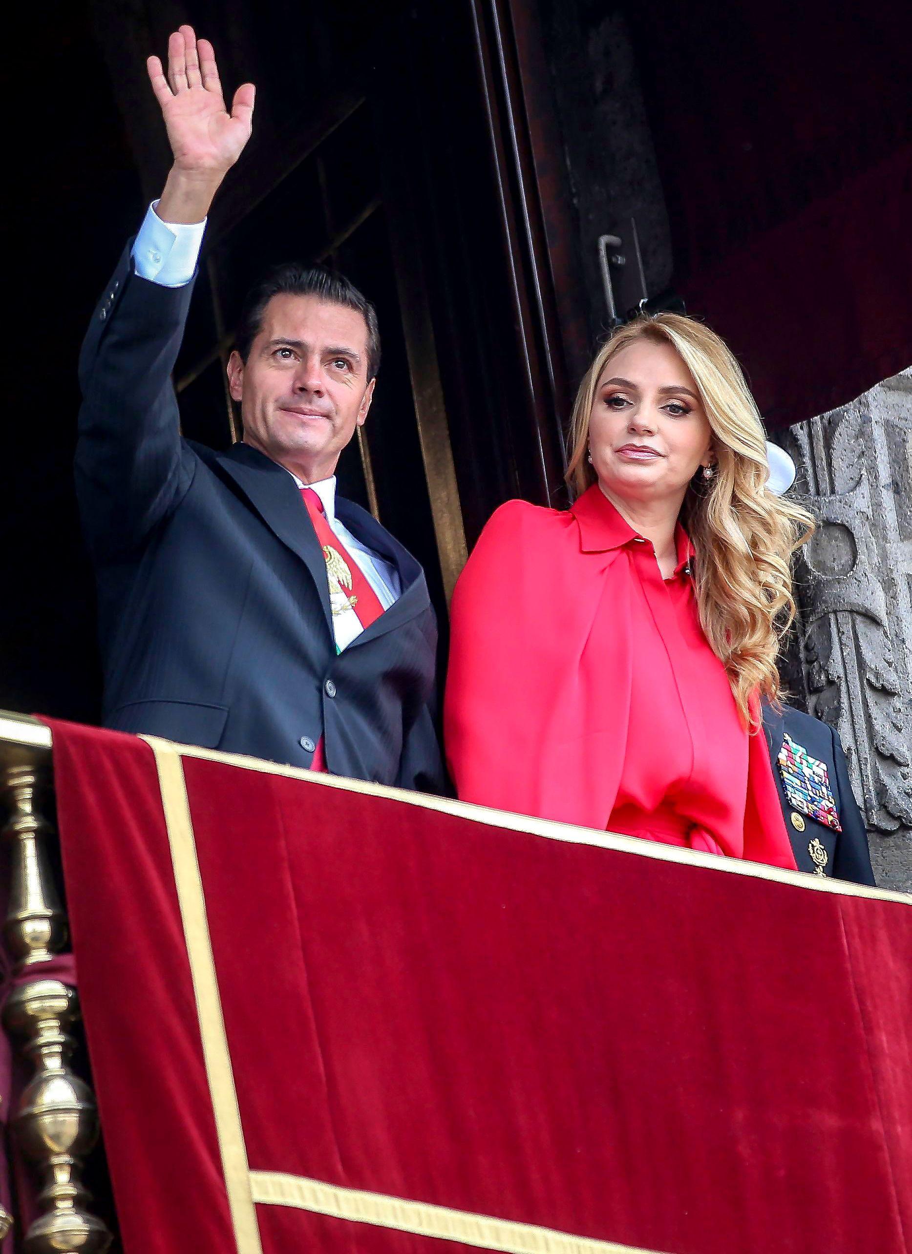 Enrique Peña Nieto Angélica Rivera