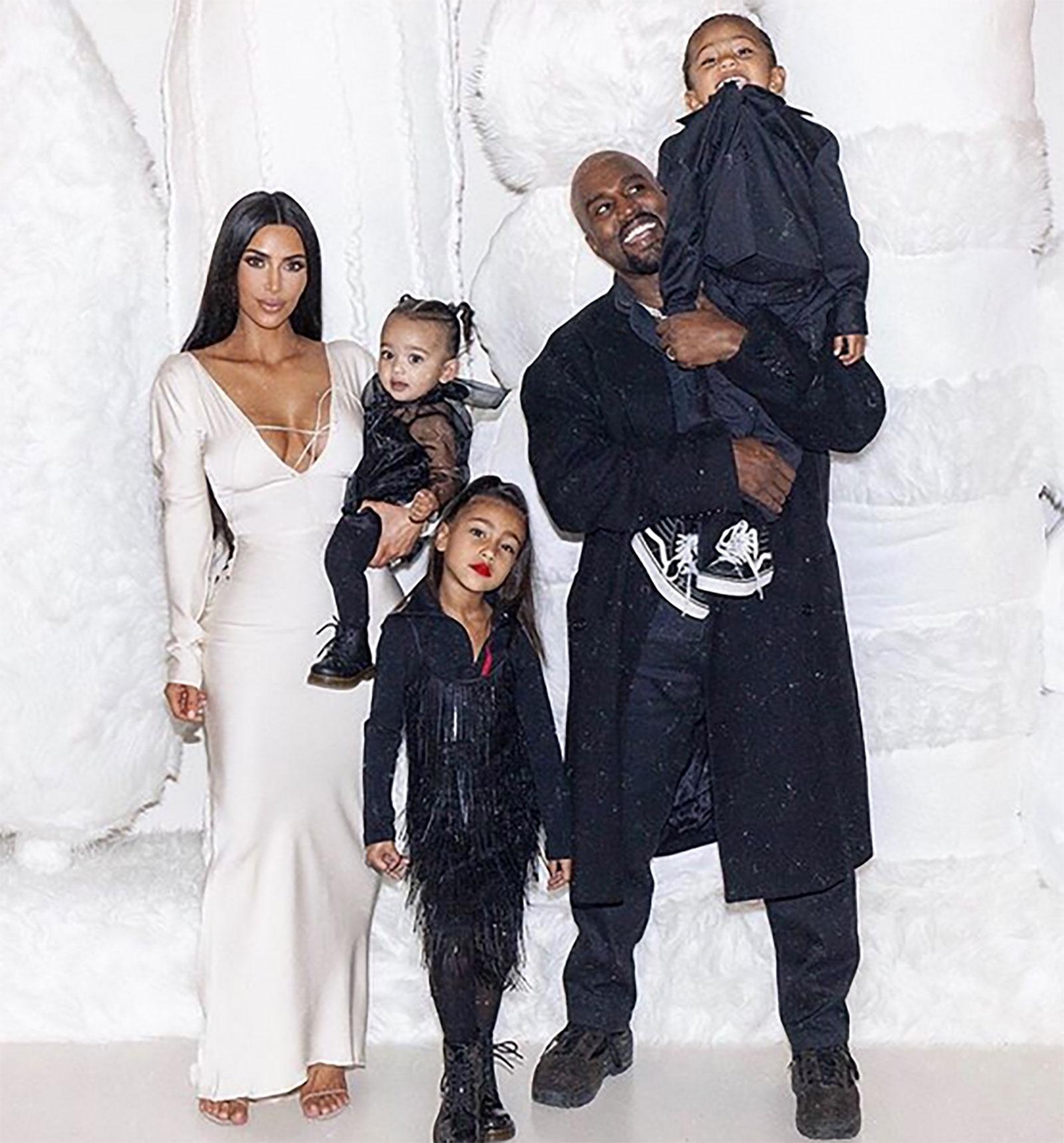Kim Kardashian y su familia
