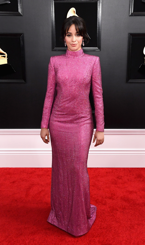 Grammy 2019, alfombra roja, famosa, estilo, vestido