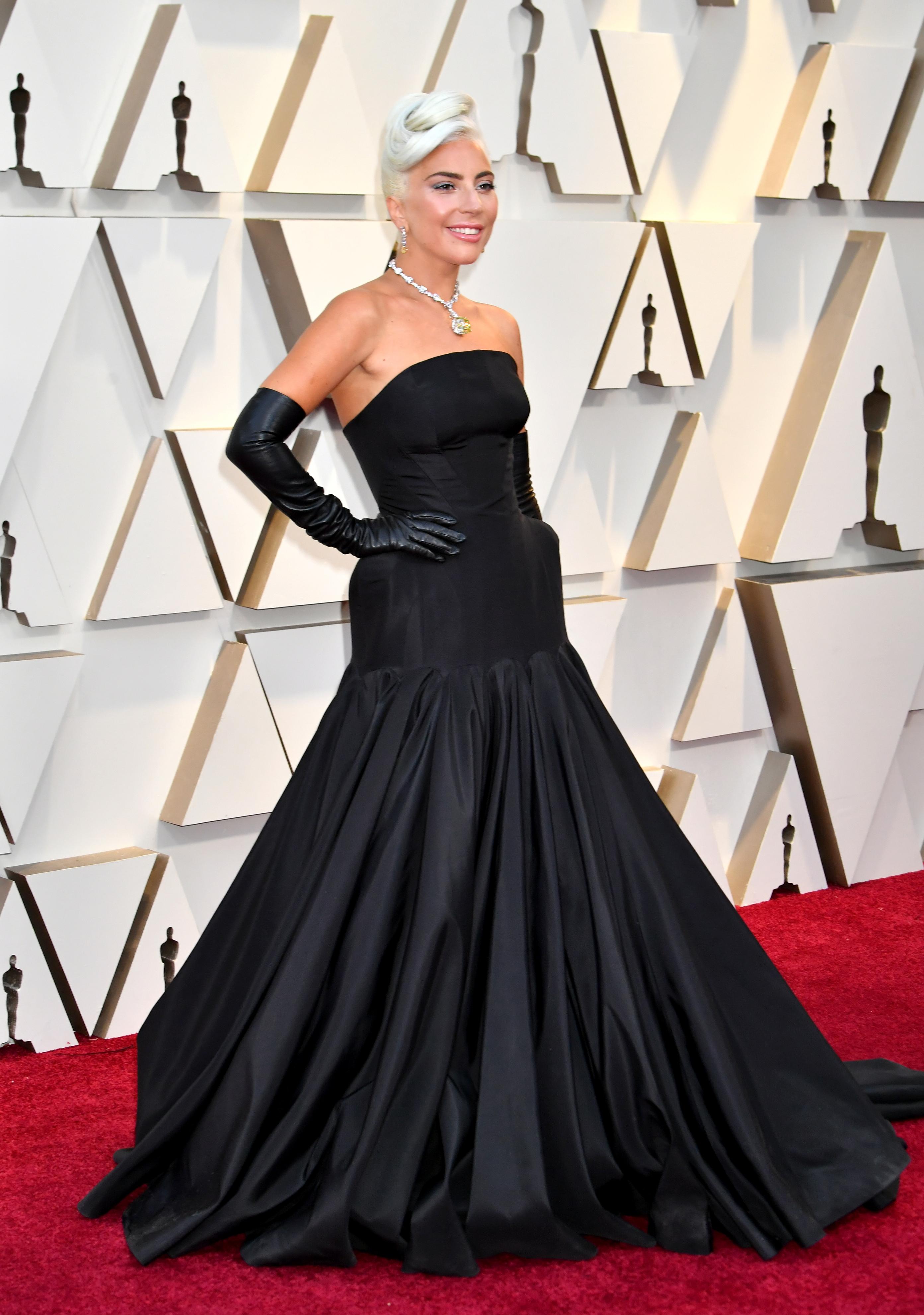 Lady Gaga, look, premios Oscar, 2019