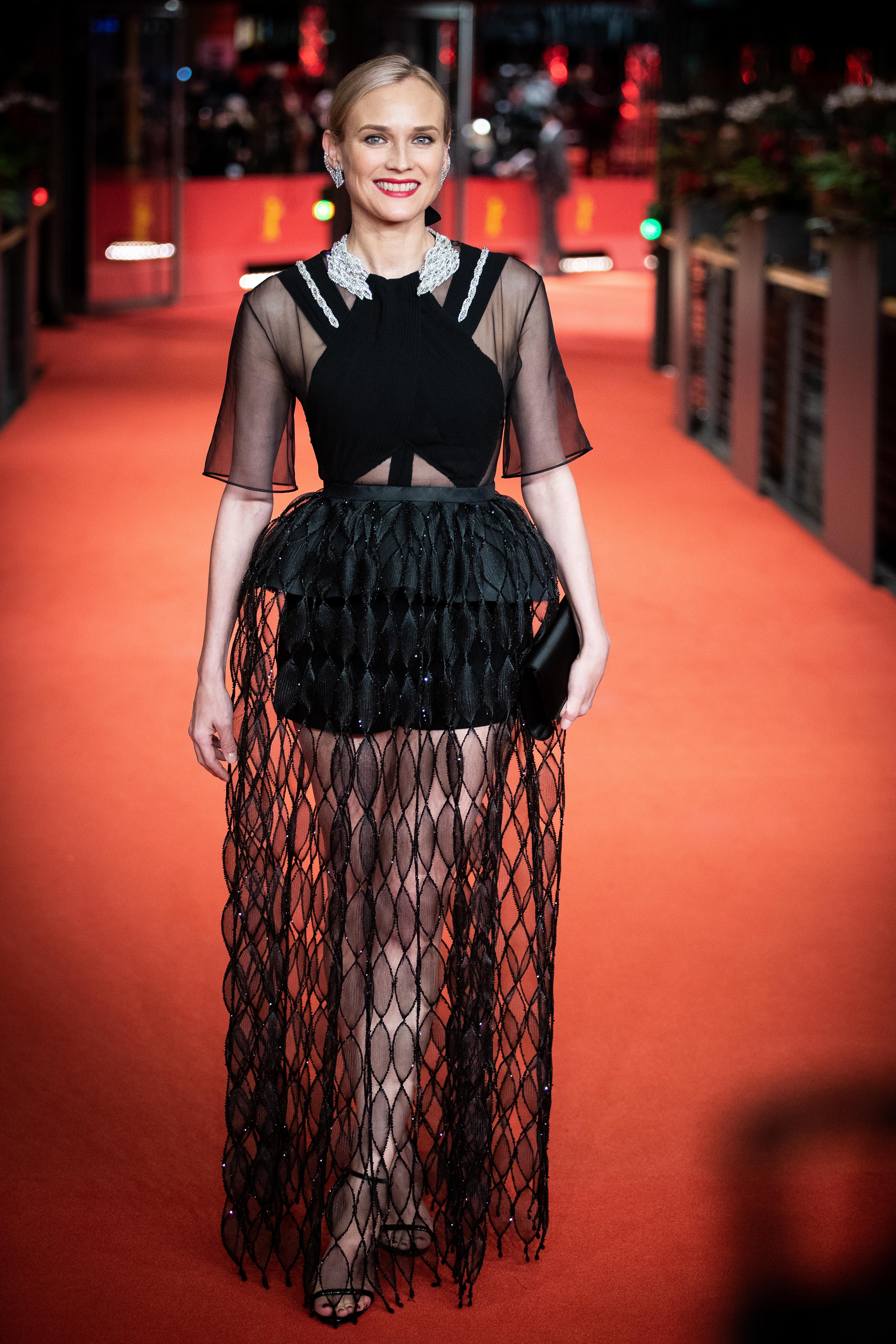 Diane Kruger, looks
