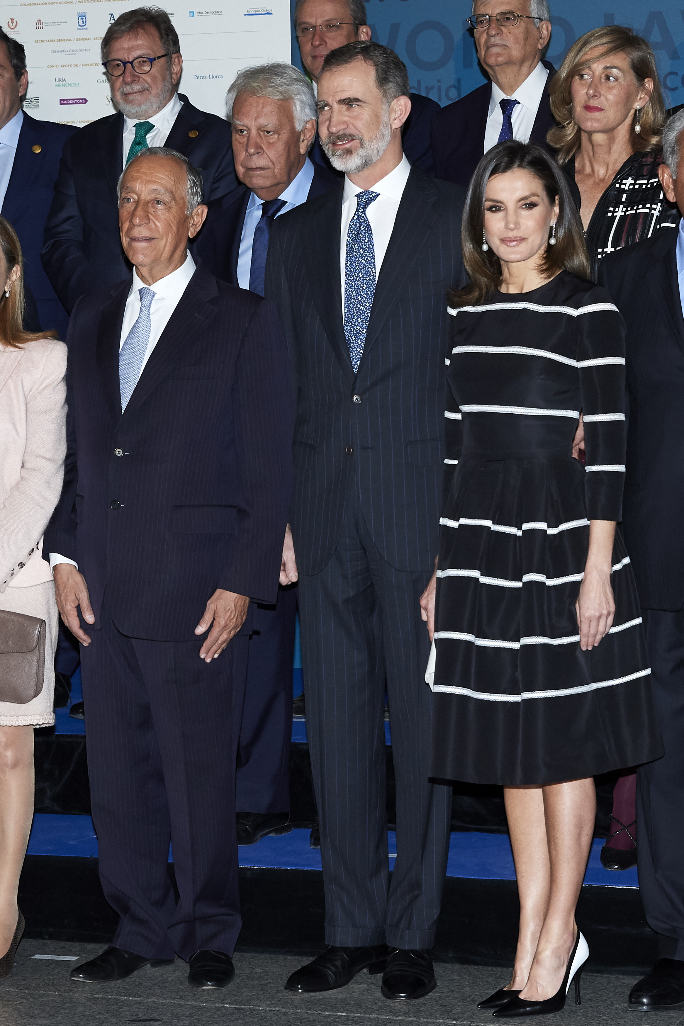 Spanish Royals Attend Closure Of 'World Law Congress' In Madrid
