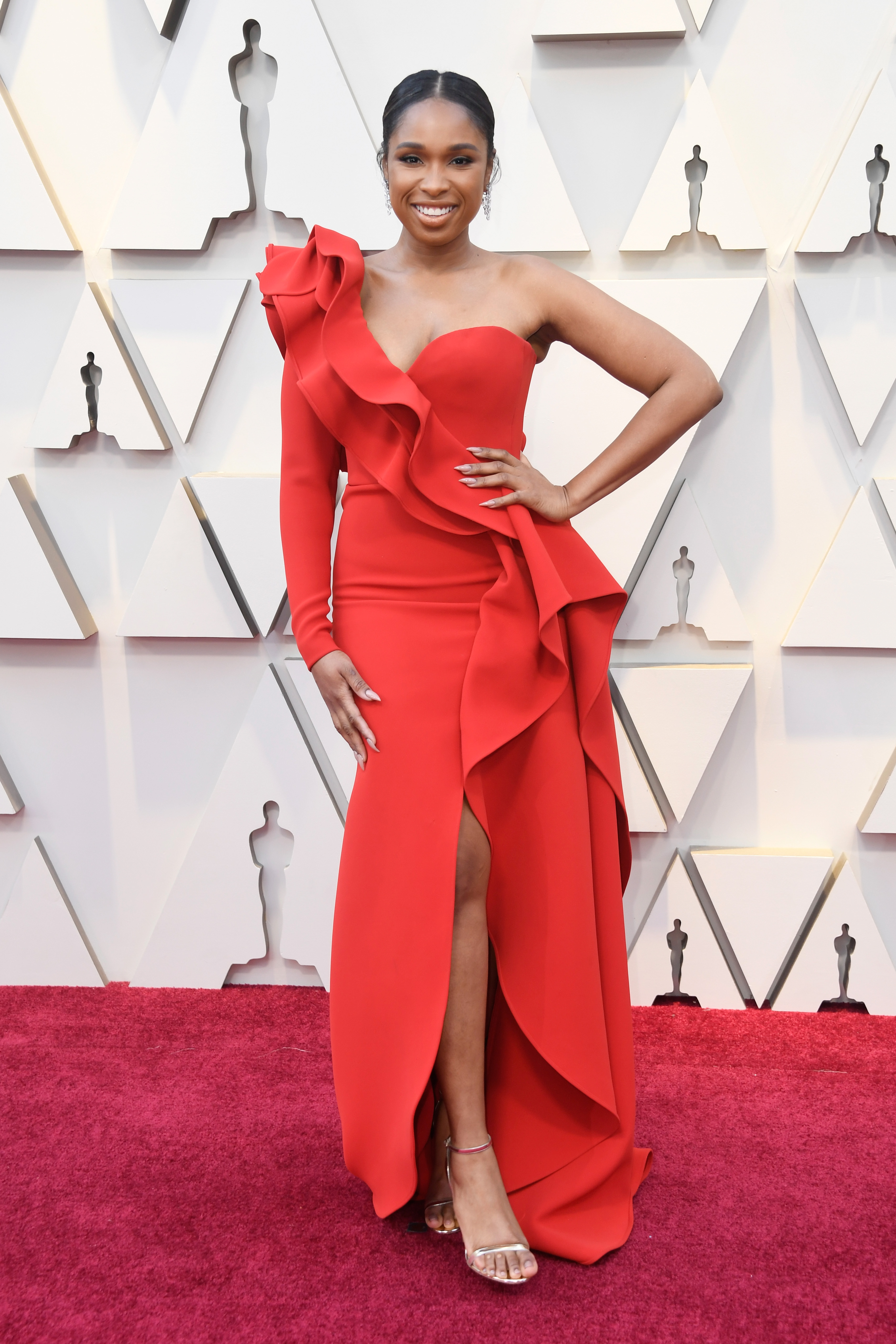Jennifer Hudson, look, premios Oscar, 2019
