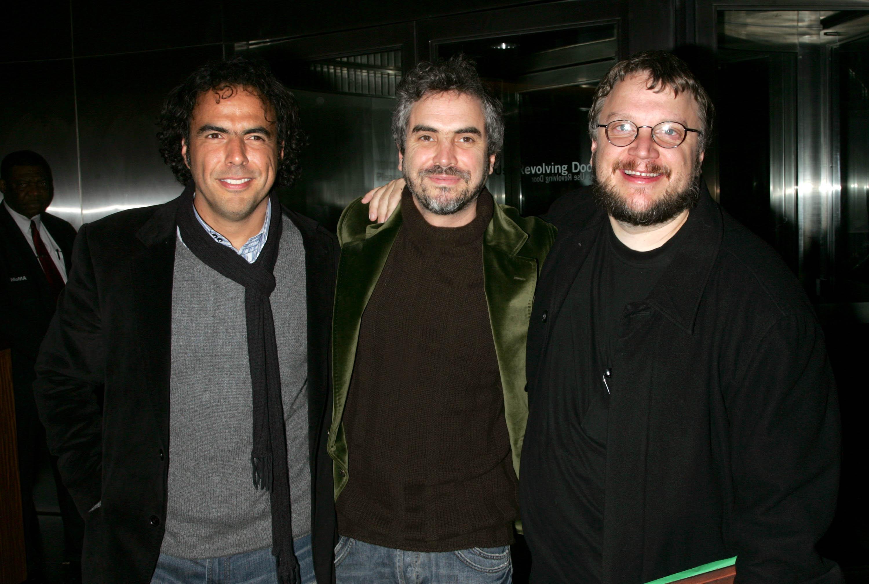 Alejandro Gonzalez Inarritu, Alfonso Cuaron and Guillermo Del Toro