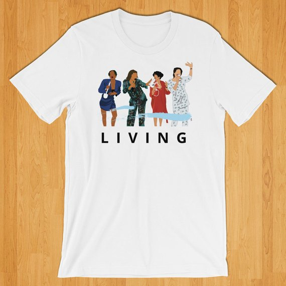 '90s TV Classic Living Single T-shirt