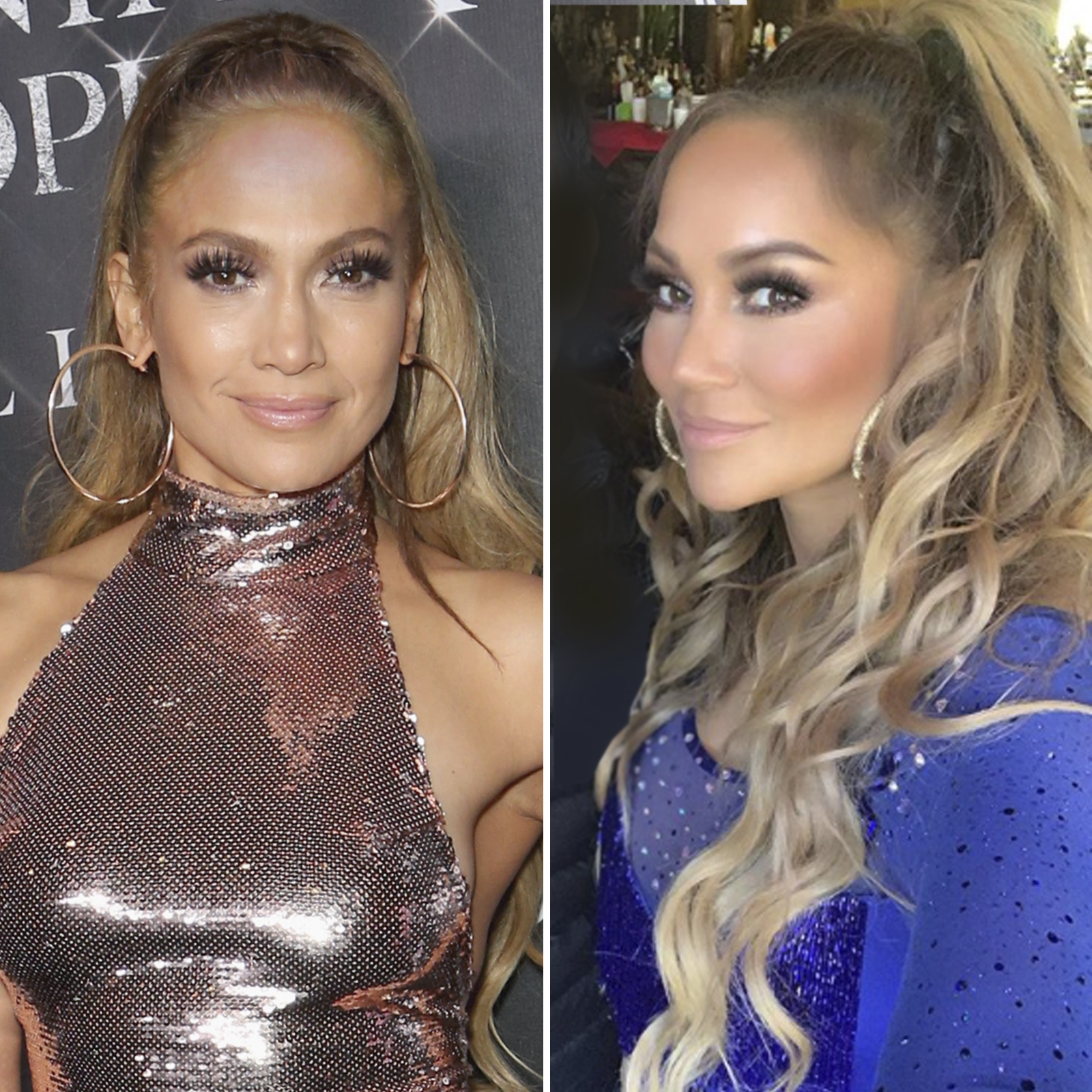 Jennifer Lopez y Connie Pena