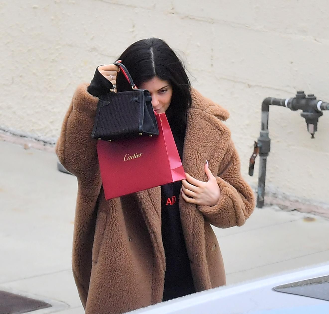 Kylie Jenner, cartier