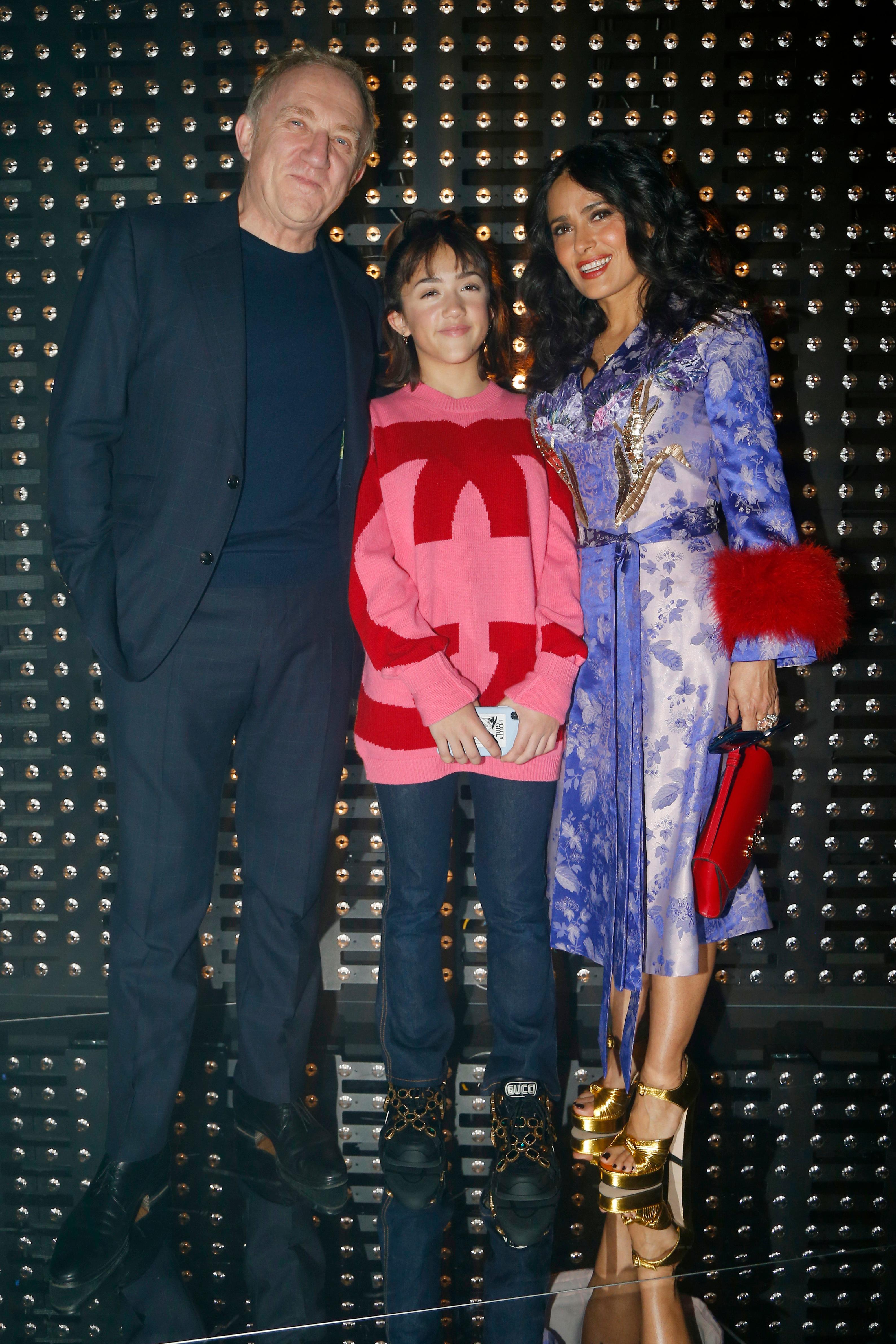 Francois-Henri Pinault, Salma Hayek, Valentina Paloma Pinault