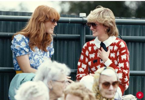 Sarah Ferguson and Princess Diana. Photo: Georges De Keerle/Getty