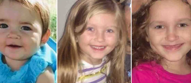 Kyrie Rodery, Cassidy Rodery, Alaina Moore. Picture: GoFundMe