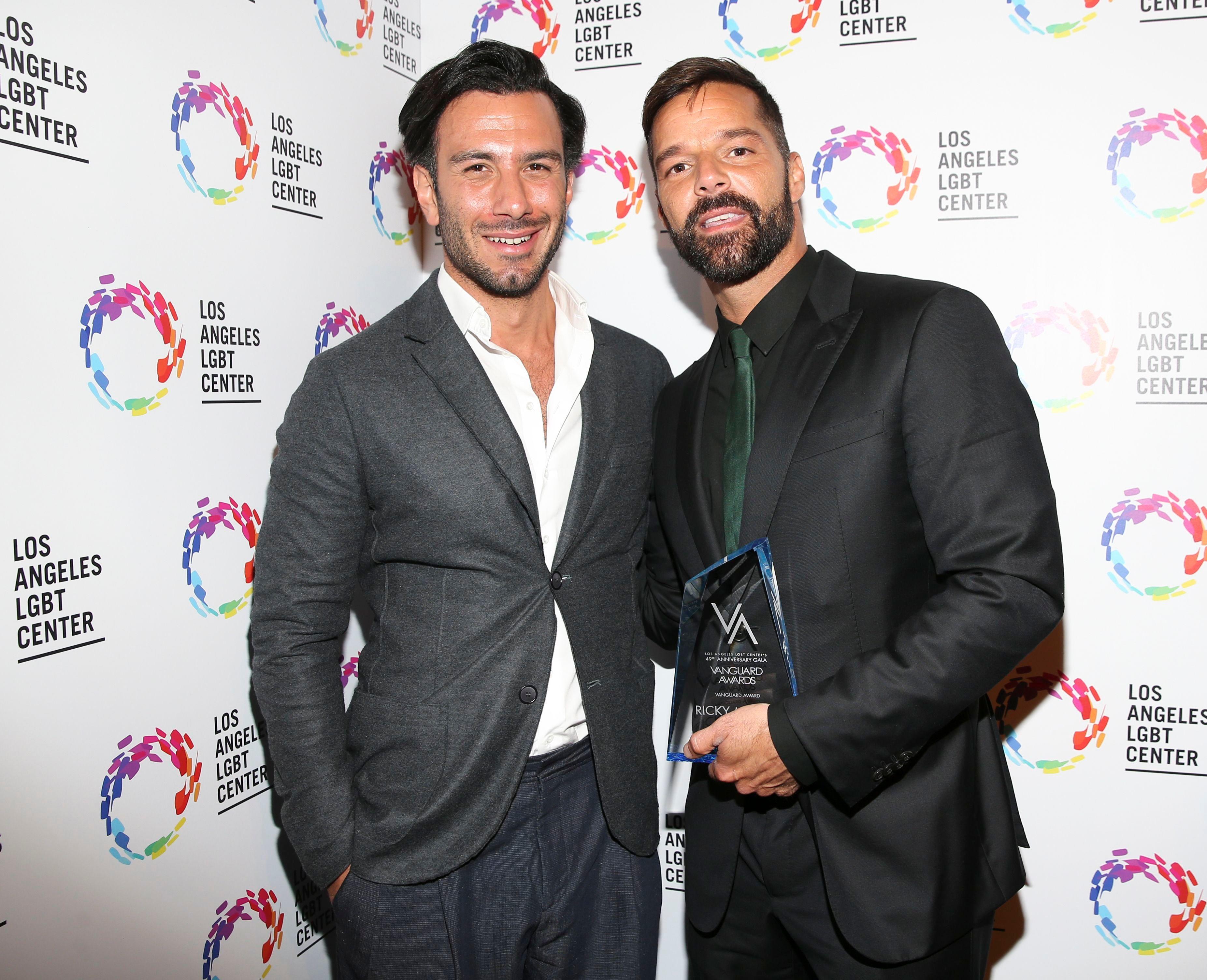49th Anniversary Gala Vanguard Awards, Backstage, Los Angeles LGBT Center,  USA - 22 Sep 2018